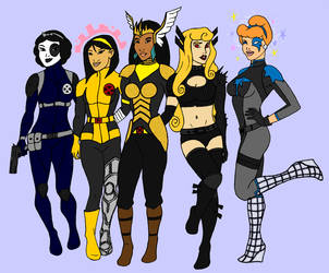 X Women do Disney II by tapwater86
