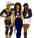 Marvel Black Girls Rock