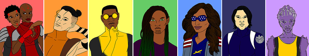 Marvel QPOC Pride by tapwater86