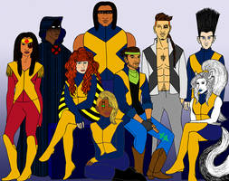 What If...? New Mutants by tapwater86