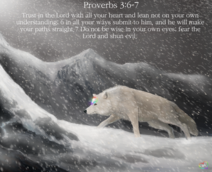 76 The holy White Wolf-I Trust in GOD My Savior! T by TheHolySpiritSpeaks