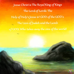 144 Jesus christ the royal king of kings the lord  by TheHolySpiritSpeaks