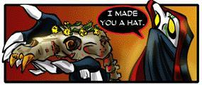 Richard made you a hat by Amayalucy