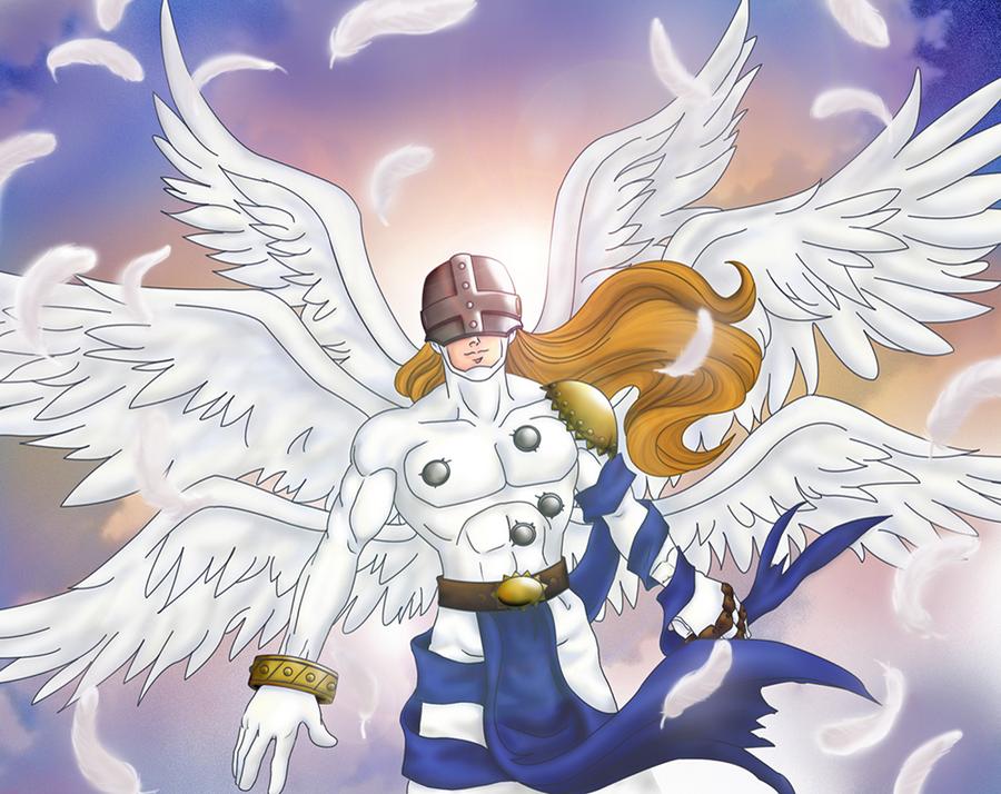 angemon by ovidiocleto on deviantart