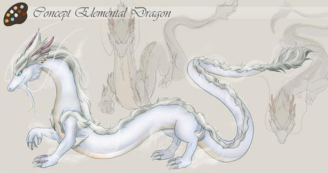 Concept Art - Elemental Dragon