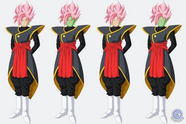 Zamasu + Goku Black Fusion ~ Super Sayan Rose