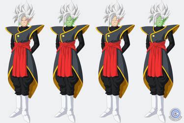 Zamasu + Goku Black Fusion ~ Super Sayan White