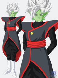 Zamasu Fusion (Black Goku + Zamasu) Design
