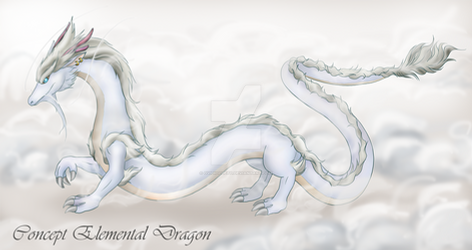 Concept Art - Elemental Dragon (New Presentation)