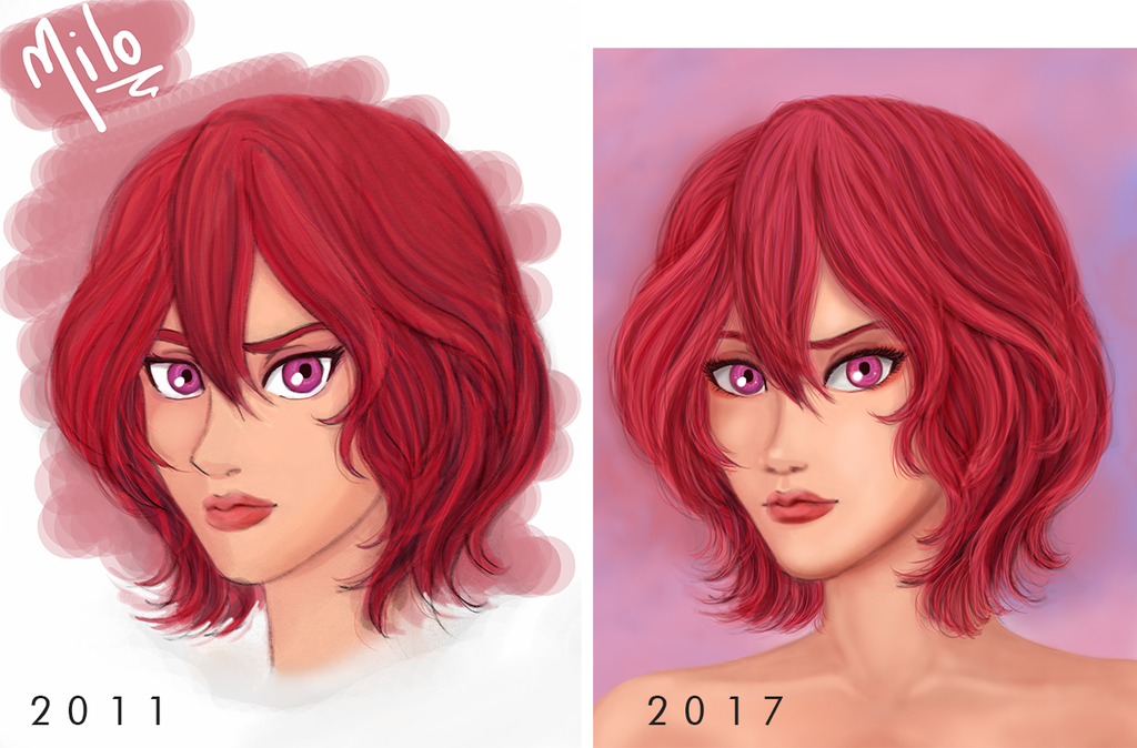 Remake 2011 ~ 2017 - Comparison by ovidiocleto