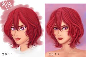 Remake 2011 ~ 2017 - Comparison