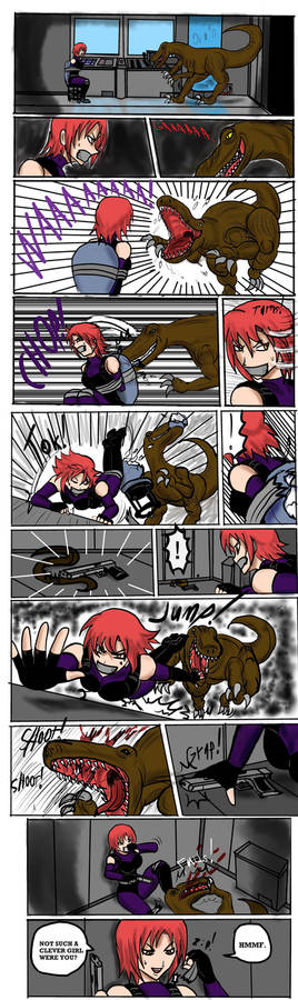 Dino Crisis : Regina in trouble part 2