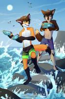 Summer games | commission by LaraWesker