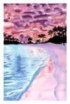 Pastel Seascape by acarlizeynep