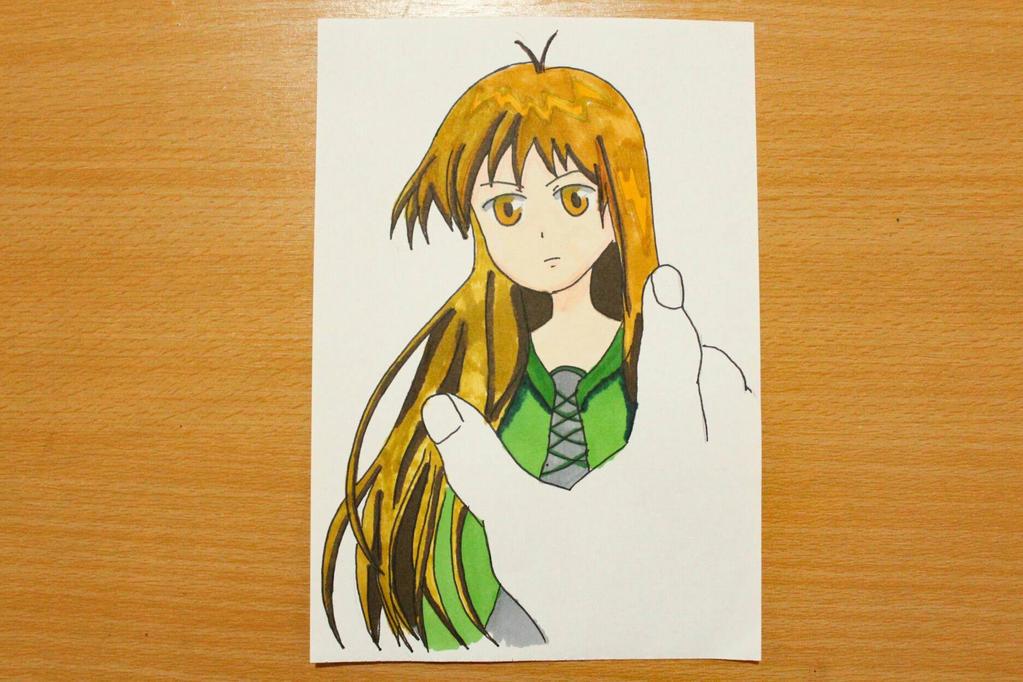Another girl by sawakaya