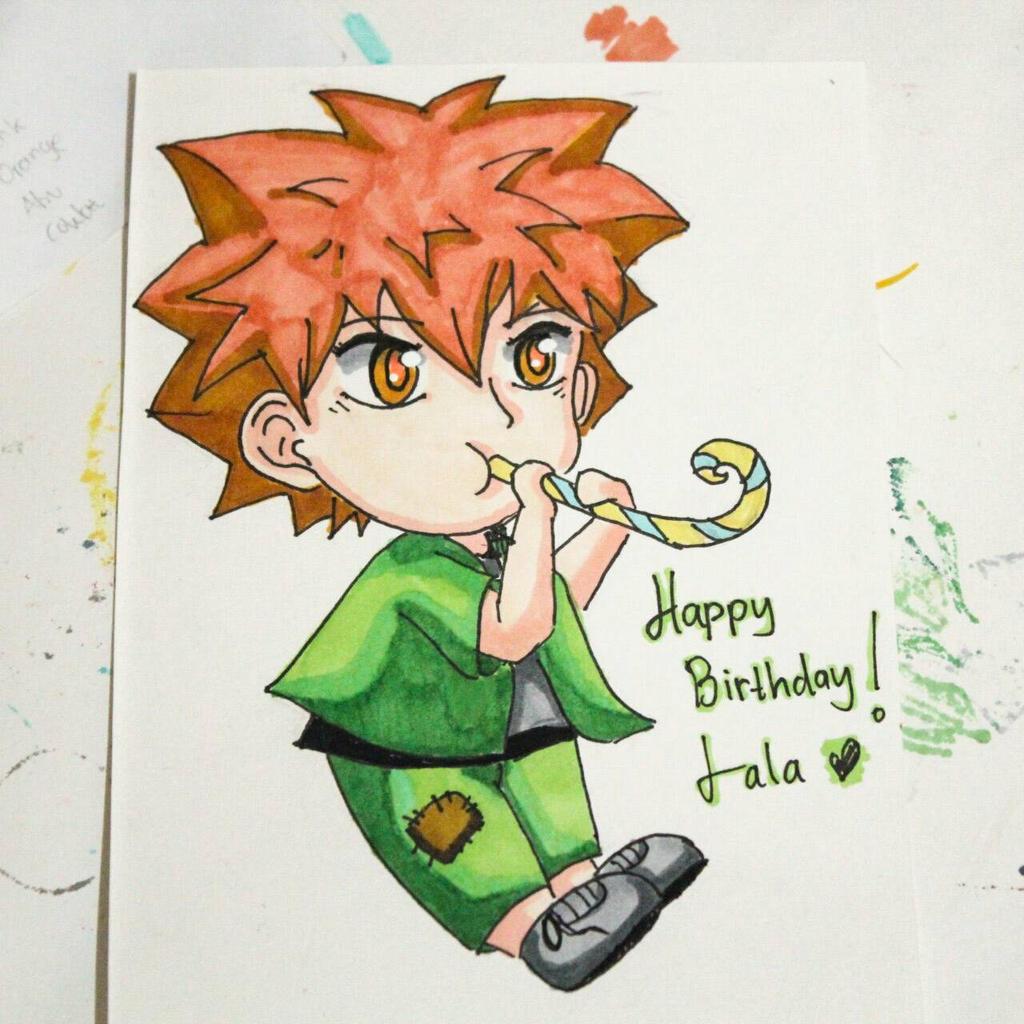 birthday card? by sawakaya