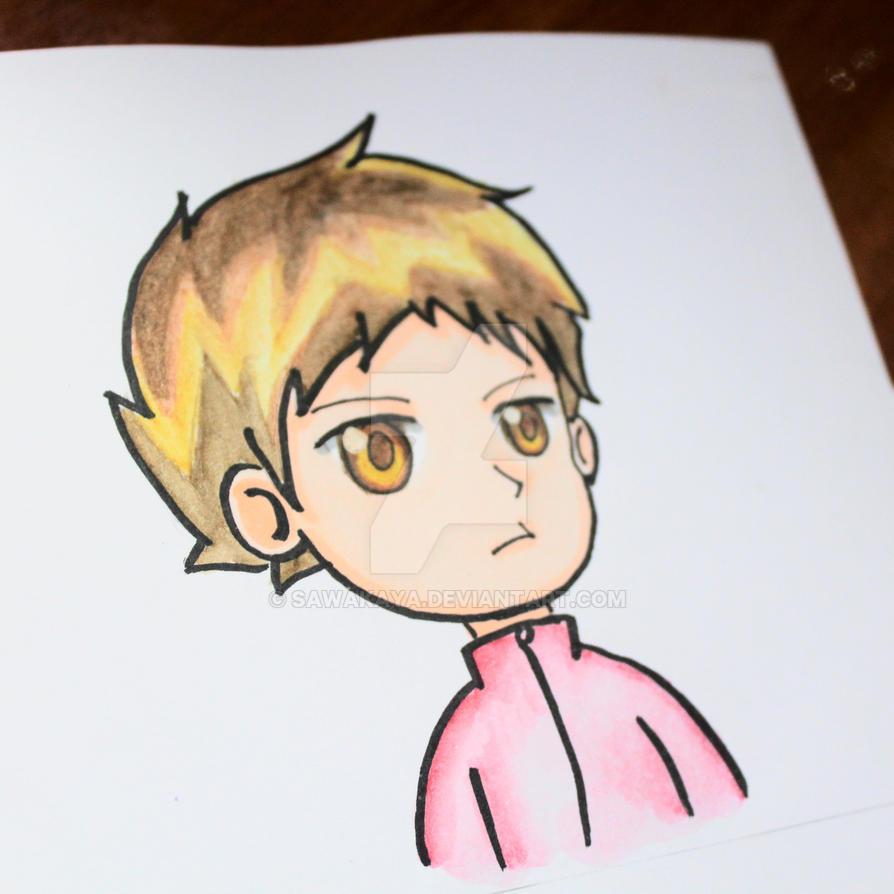 Hello boy by sawakaya