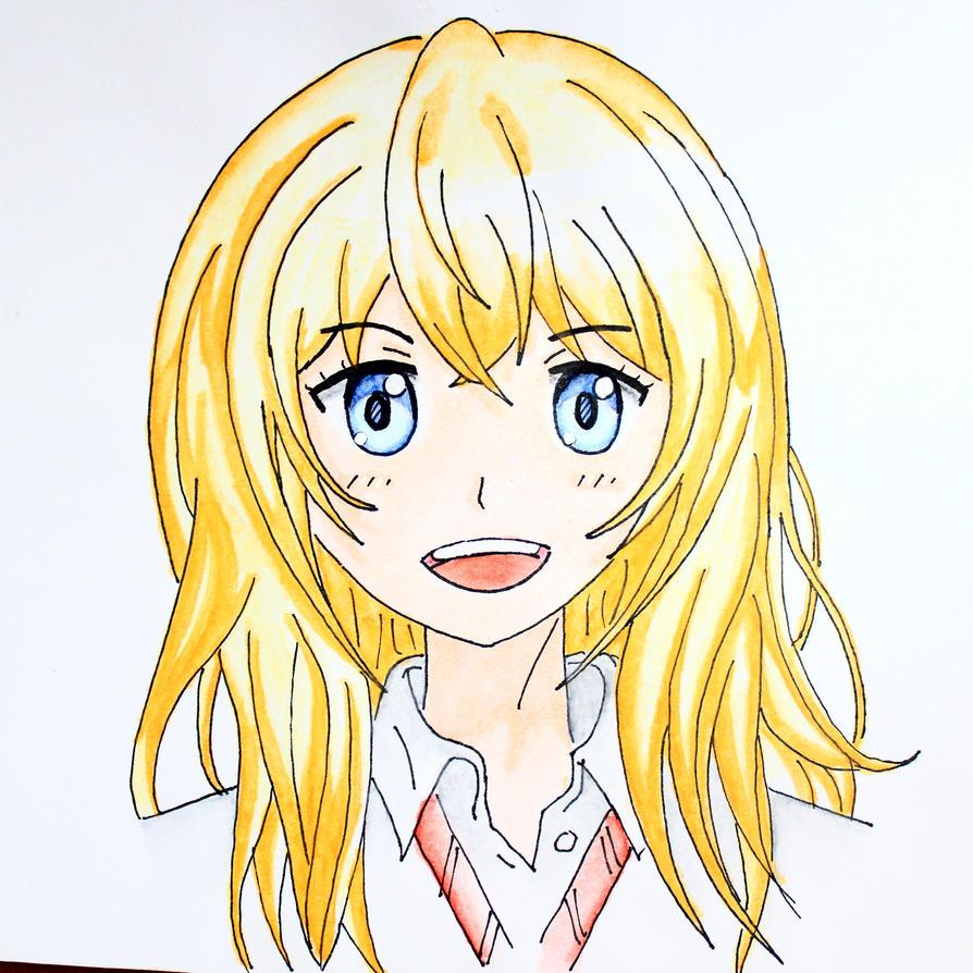 Kaori Miyazono by sawakaya