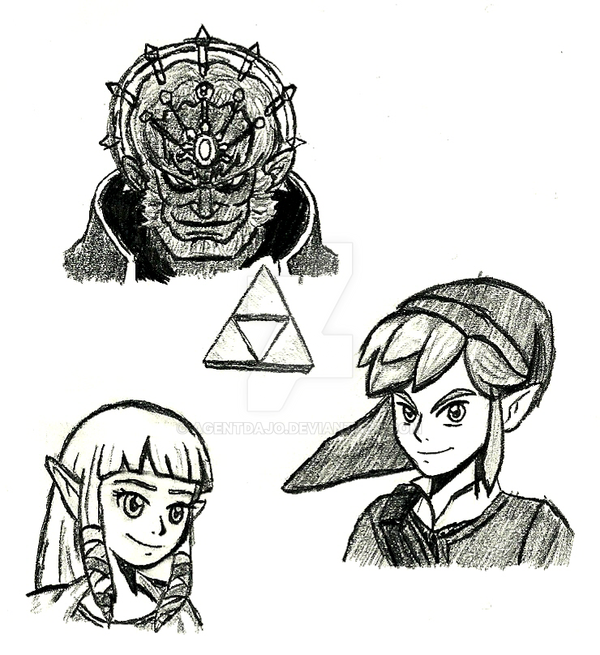 How to draw the triforce