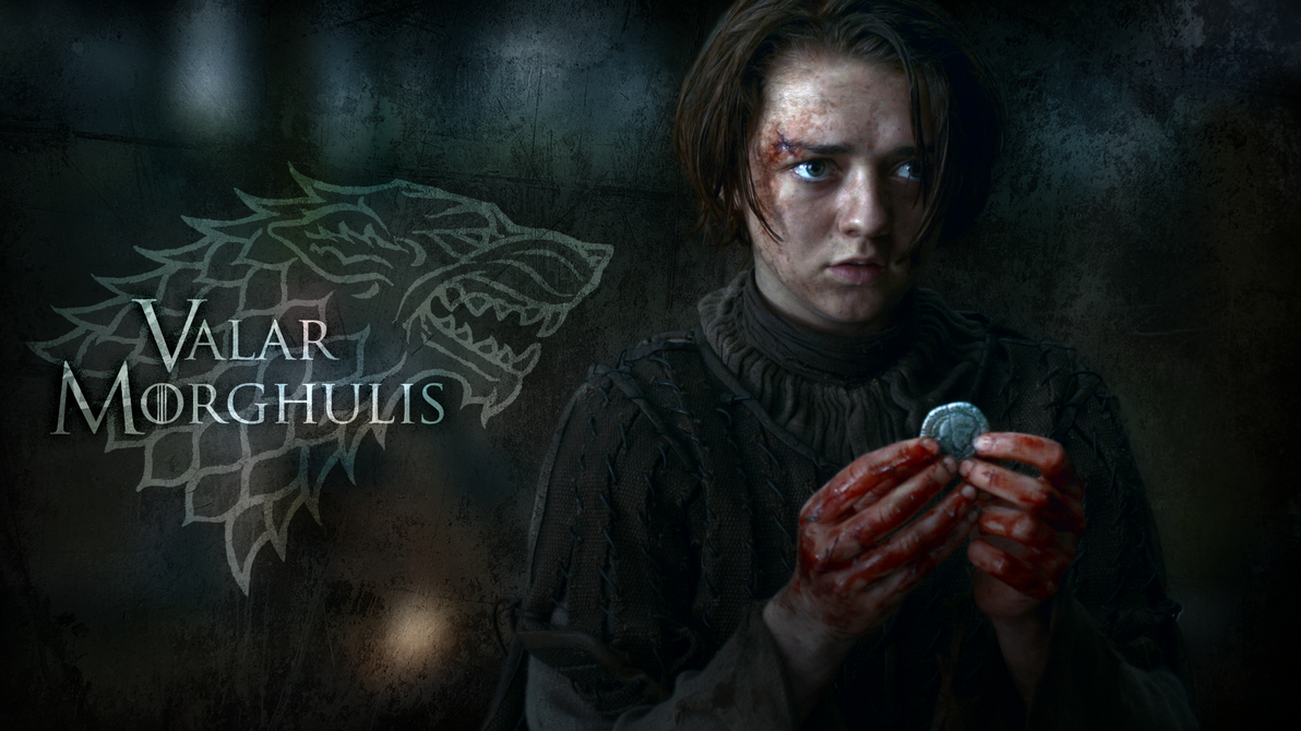 game of thrones wallpaper ~ arya starkinarus13 on deviantart