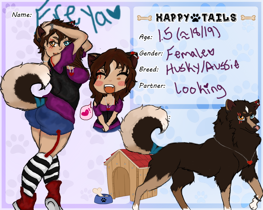 Happy Tails, Freya App Form by IrresistibleReject