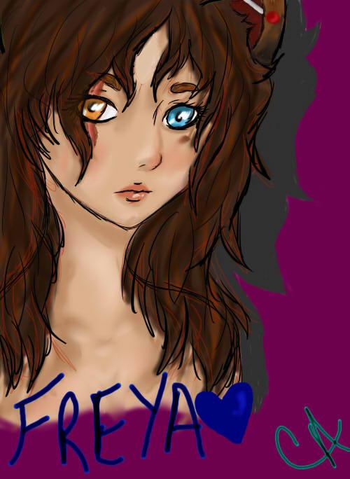 Freya Portrait Photo by IrresistibleReject