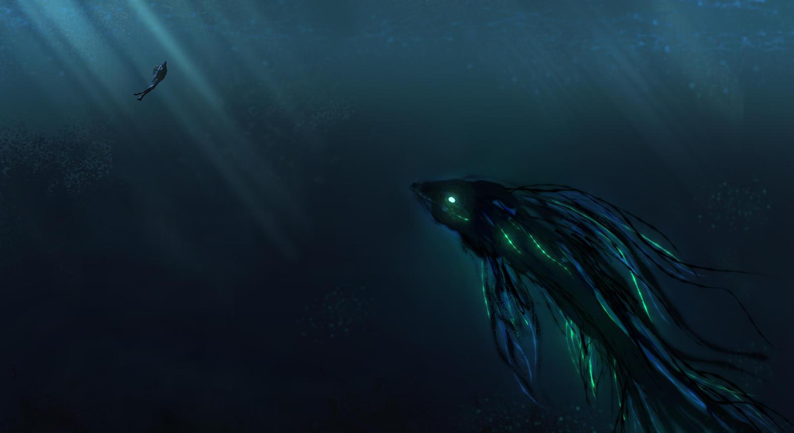 Deep Under The Sea by TacoSauceNinja on DeviantArt