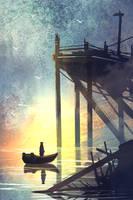 Old Pier by TacoSauceNinja