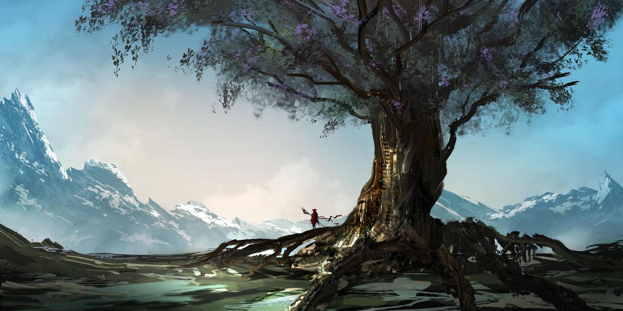 Living tree by TacoSauceNinja