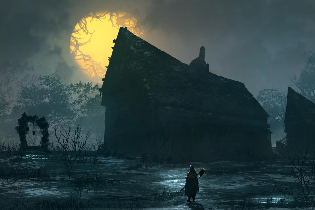Forgotten Village by TacoSauceNinja