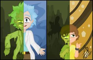 -=Rick and Morty - Toxic Wheel=- by Tickiploosha