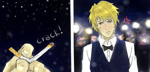 Shizuo is angry