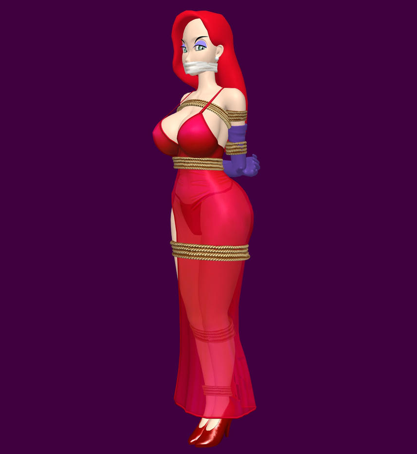 Jessica Rabbit - DID by Misses-Hunk