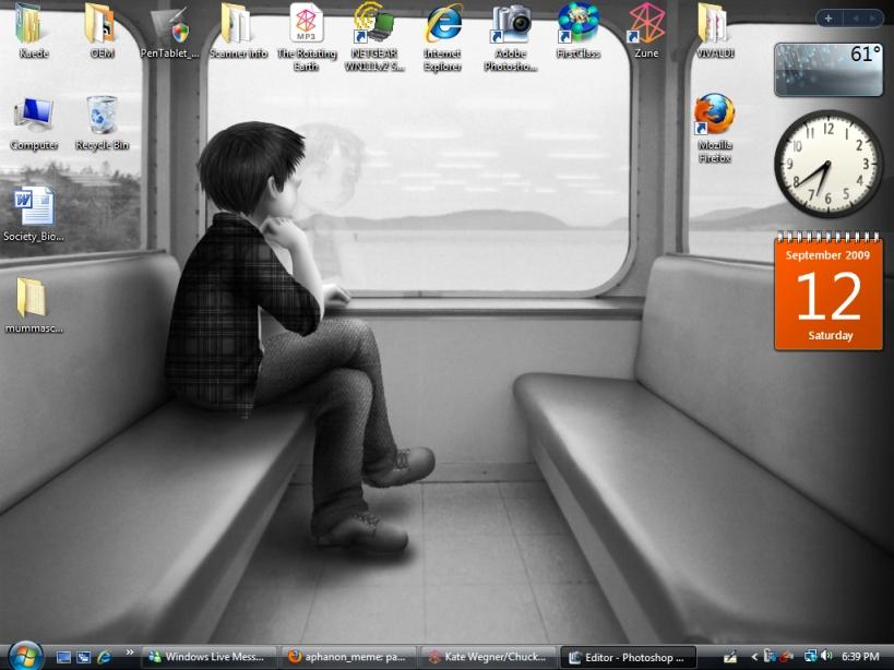 Desktop Screenshot: traintime by Kaede-chama
