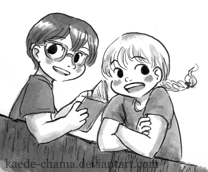 Jack and annie coloring pages ~ jack and annie by Kaede-chama on DeviantArt