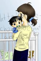 and Takashi's mom, too by Kaede-chama