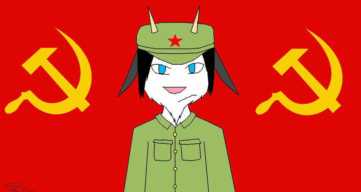 Communist Neyro by Kyuubichowderfan