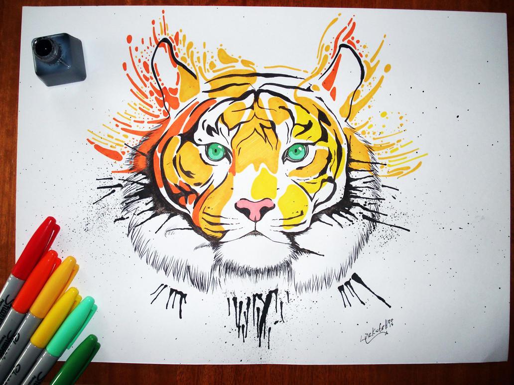 Tigre by wekufeh