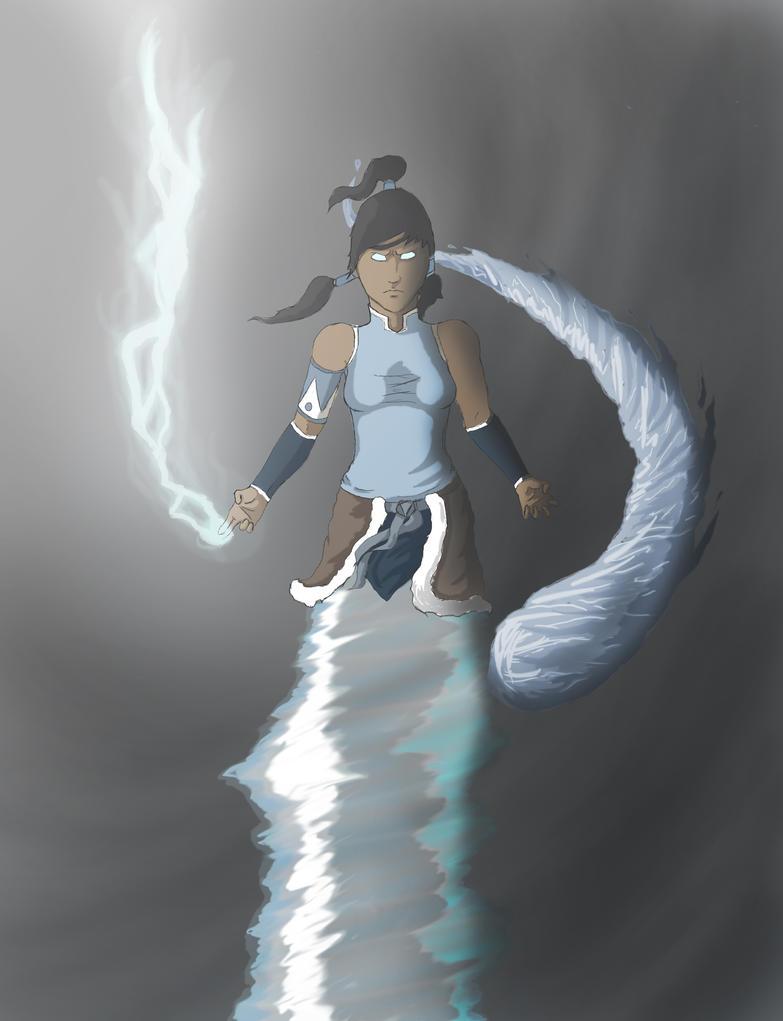 Korra: Avatar State by InkSm3ar