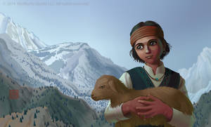 Ged the Goatherd by Wolfberry-J