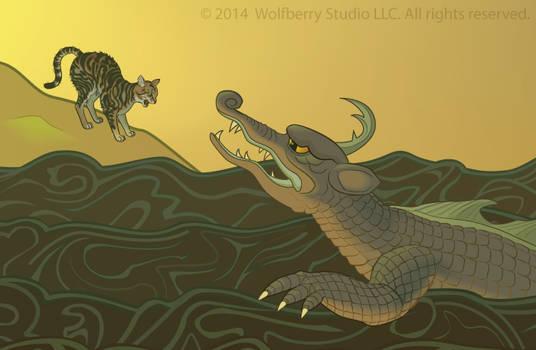 Hissing at a Dragon
