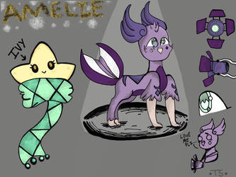 Amelie Reference Sheet by TiredSpider