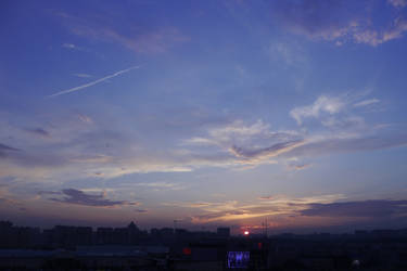 Sunset for me5