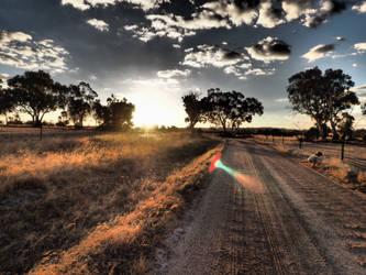 Narrogin Sunset by ringofscars