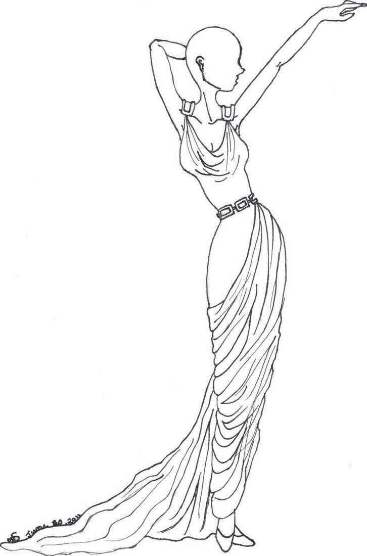 Uncategorized Drawings Of Greek Goddesses greek goddess fashion design by srmcla15 on deviantart srmcla15