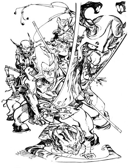 Thundercats 90 minutes by ericcanete on deviantart for Coloring pages thundercats