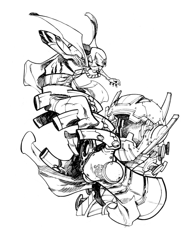 CLASSIC VISION_commission by EricCanete