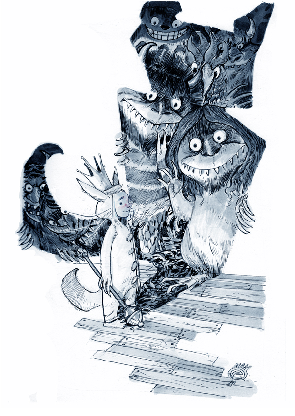 WHERE THE WILD THINGS ARE by EricCanete