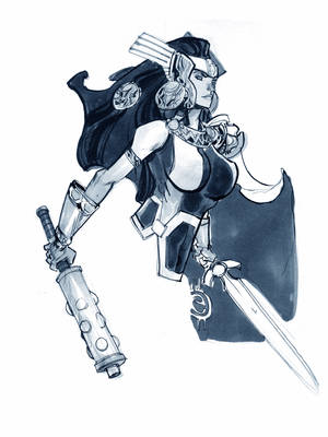LADY SIF_SDCC by EricCanete