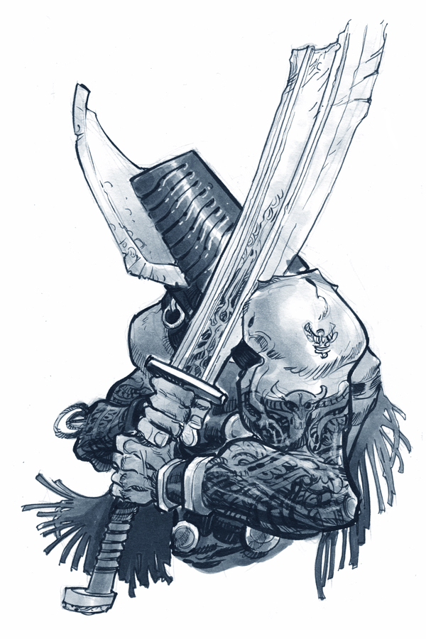 BLADE HELM by EricCanete